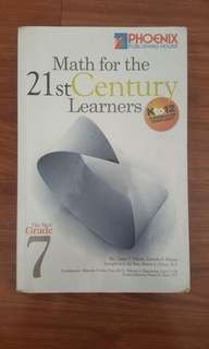 Grade 7 - Math for the 21st Century Learners