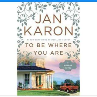 (Ebook )To be where you are - Jan Karon