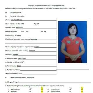 Zin Mar Khaing ( Ex S'pore in Childcare )