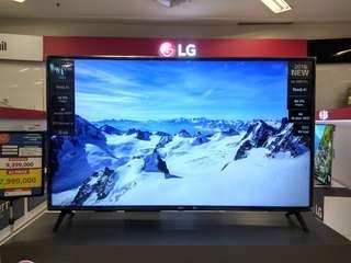 LG Smart TV 4K HDR New 2018 Model Promo Free 1X Angsuran Tanpa Kartu Kredit