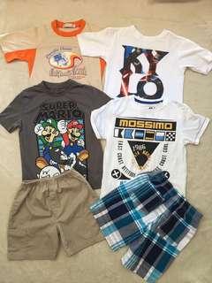 Boy's Clothes Bundle (5-6yo)