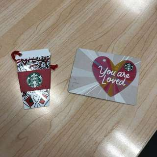 Starbucks limited edition cards