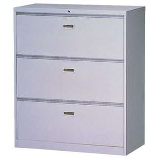 Office Furniture - 3 layer lateral cabinet