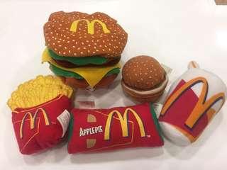 麥當勞6全新久遠部分有少黃