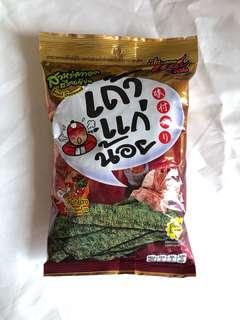 Tae Kae Noi Snack Rumput Laut Original Thailand Spicy Squid