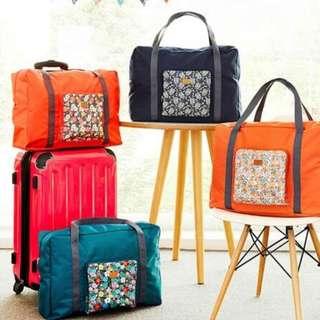 281 FOLDABLE TRAVEL BAG /HAND CARRY TAS LIPAT / FOLDING BOSTON BAG