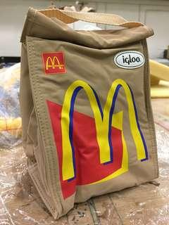 麥當勞全新igLoo保温袋(沒年份)