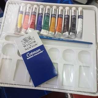 Winsor Newton Cotman Palette Set