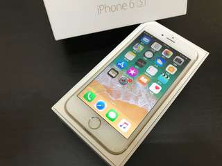🚚 金色iPhone6S 64G 4.7吋 無原盒 附原廠充電頭加線 高雄可面交 或蝦皮