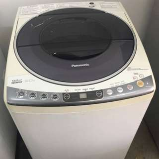 9kg Inverter Washing Machine Mesin Basuh Recond Panasonic