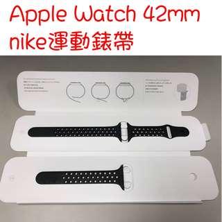 🚚 降價出清! apple watch 42mm nike錶帶(不含手錶) 有使用痕家人e2301