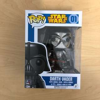Funko Chrome Darth Vader