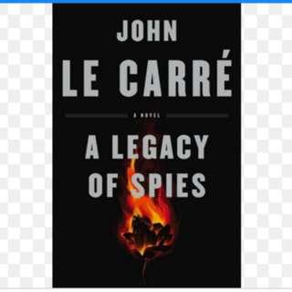 (Ebook) A legacy of Spies - John Le Carrè