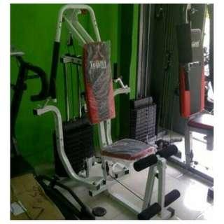 Home Gym Mini HG012 Alat Olahraga Pembentuk Otot Pria Wanita Sixpack Paling Murah