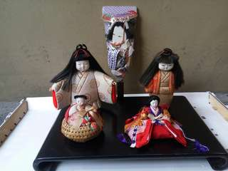 Japanese display dolls