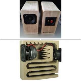 2.5-inch full-range speaker Vacuum Tube Amplify perfect match Height 16cm Speaker power 20w, 4ohm