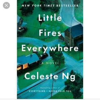 (ebook) Little Fires Everywhere - Celeste Ng