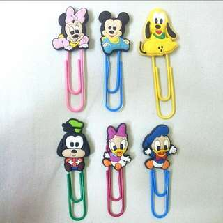 Bookmarks / Planner Clips: Baby Mickey & Friends