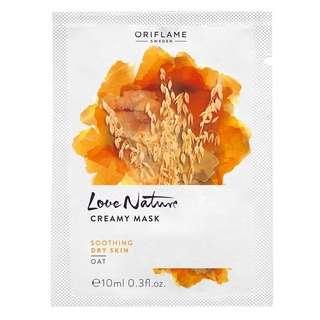 Love nature creamy mask oat