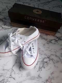 Converse Shoes ( White )