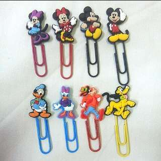 Bookmarks / Planner Clips: Mickey And Friends
