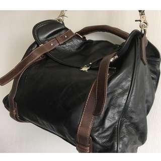 Rabeanco Leather Satchel Bag. Never Used.
