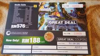 Voucher Gold Coast Morib, Banting
