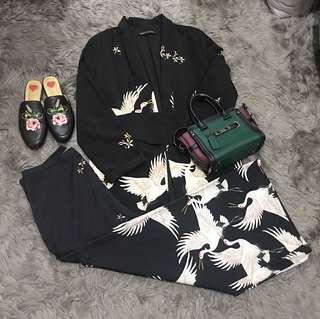 ZARA kimono Birdie blazer