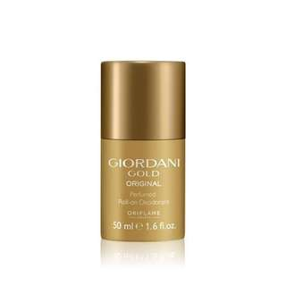 Giordani gold original perfumedroll on deodorant