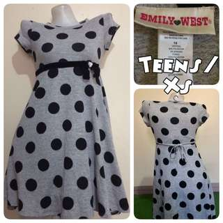 Emily West Polka Dress