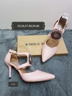 Manolo blahnik heels 8 cm