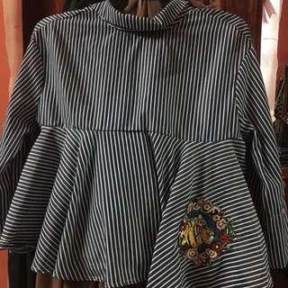 ac8357d4d8 zara blouse | Tops | Carousell Malaysia