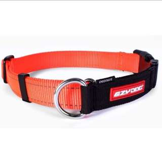 EzyDog Checkmate Collar XL- Blaze Orange