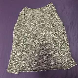 basic grey sweater