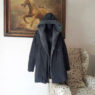 Unisex Winter Coat Black