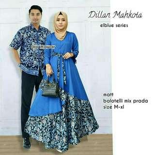Batik Couple Sarimbit mix Prada terbaru