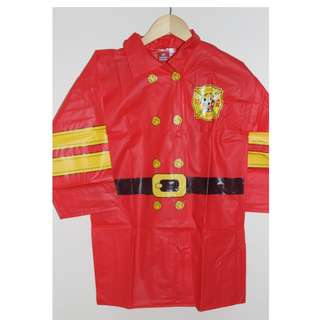 Mickey Mouse Firefighter raincoat for kids