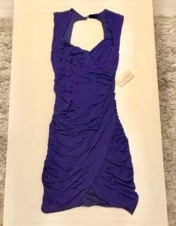 Brand New. FOREVER21 Purple Stretch Dress