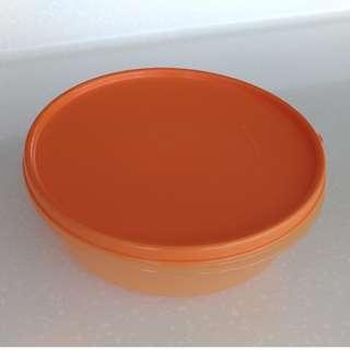 Tupperware 1 Liter Modular Bowl(Orange)