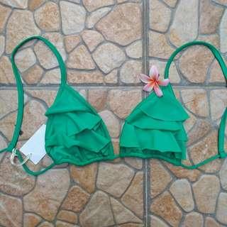 Green Bikini Lily Top Air Brand