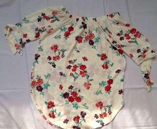 Semi Dress Off Shoulder