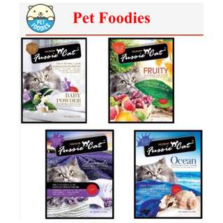 [Pet Foodies] New Fussie Cat Bentonite 10L/7kg as low as $6.50