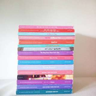 POP FICTION BOOKS (REMAINING)