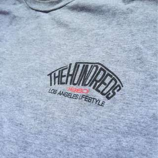 THE HUNDREDS CHAPTER ATHLETIC/HEATHER GREY