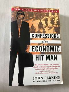(NY BESTSELLER) Confessions Of An Economic Hit Man - JOHN Perkins