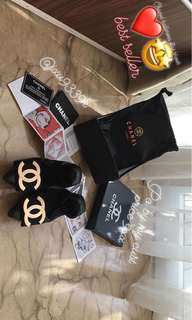 Chanel balerina flat shoes po by my cust