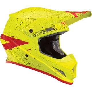 Thor Sector Hype Helmet Yellow