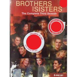 English Drama Brothers And Sisters The Complete Third Season DVD