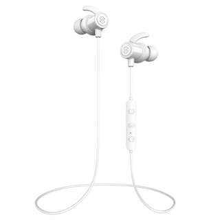 SoundPEATS new Q30+ Magnetic Wireless Earbuds Bluetooth Headphones Sport In-Ear Sweatproof Earphones with Mic (Super sound quality, IPX6, Bluetooth 4.1, aptx, 8 Hours Play Time, Secure Fit Design)