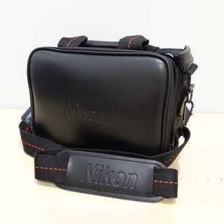 Nikon Faux Leather Bag for DSLR or Mirrorless Camera